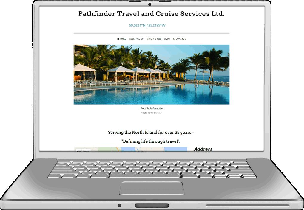 Pathfinder Travel Website Design
