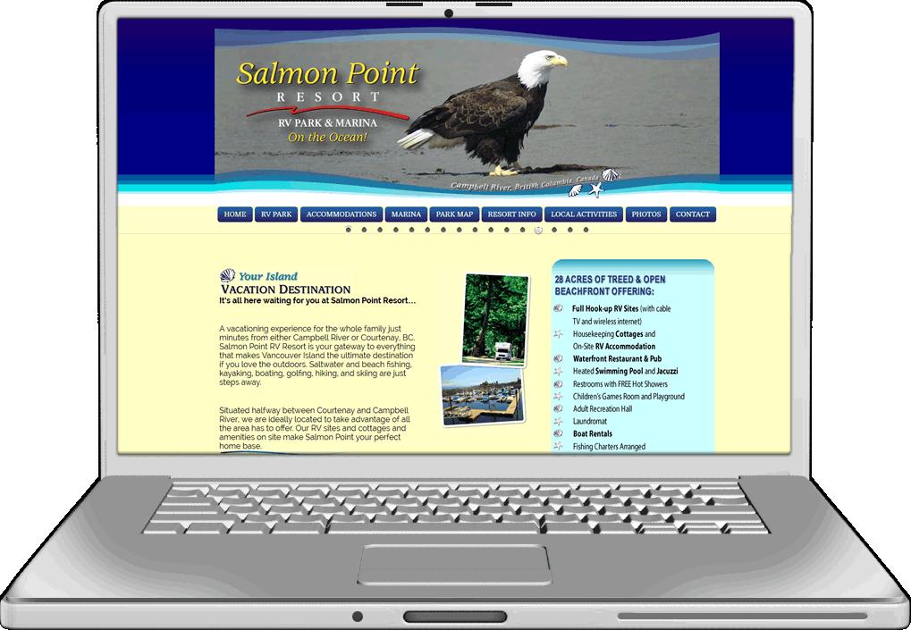 Salmon Point Website Design Website Design