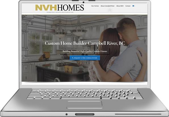NVH Homes Website Design
