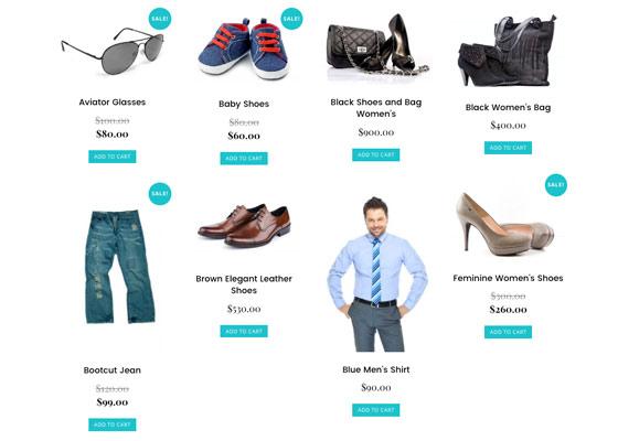 Woocommerce Shopping Cart Website Design